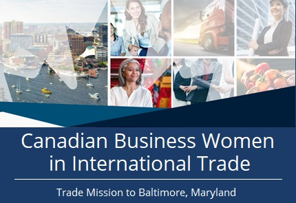 Canadian Business women trade mission in Baltimore